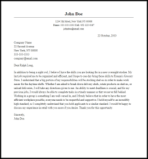 professional overnight stocker cover letter sample u0026 writing guide