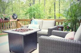 an outdoor living reveal u2013 and a cute dog