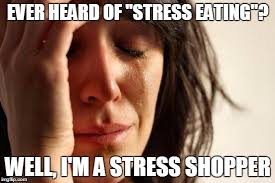 Emotional Eating Meme - you re not gonna max out your credit card are you who the