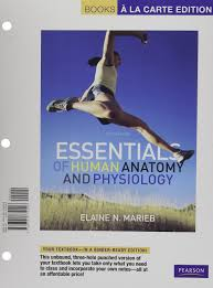 Human Anatomy And Physiology Marieb 7th Edition Essentials Of Human Anatomy And Physiology Books A La Carte