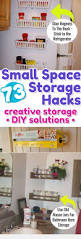 creative storage solutions for small spaces declutteringyourlife com