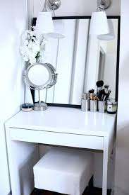 Black Vanity Table Makeup Table Without Mirror U2013 Vinofestdc Com