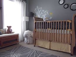 Gray And Yellow Nursery Decor Light Gray Nursery Ideas