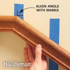 How To Install A Banister Install A New Stair Handrail Family Handyman