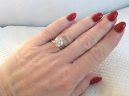 wedding band ideas wedding rings solitaire engagement ring with plain wedding band