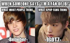 October 3 Meme - jb justin bieber or jaebum allkpop meme center
