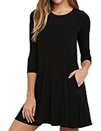 amazon com 3 4 sleeve dresses clothing clothing shoes u0026 jewelry