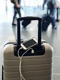travel luggage images Photos and features of the away suitcase with phone charger jpg