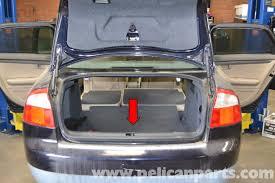 audi a4 b6 rear interior panel removal 2002 2008 pelican parts