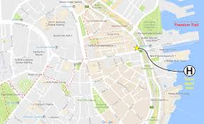 Map Downtown Boston by Faqs