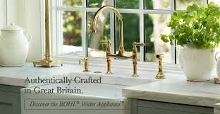 Upscale Kitchen Faucets Rohl Home Bringing Authentic Luxury To The Kitchen And Bath