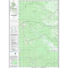 philmont scout ranch map philmont country sectional map