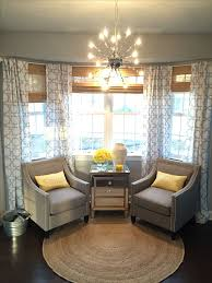 bay window living room ideas endearing curtains for bay windows in living room ideas with best