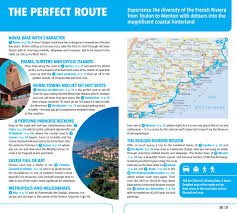 French Riviera Map French Riviera Nice Cannes U0026 Monaco Marco Polo Guide Marco