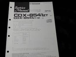 lexus es250 uk pioneer cdx 8541zt cdx 8541zt 91 lexus es250 es 250 cd player car