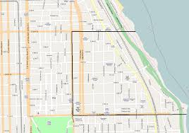 Map Of Hyde Park Chicago by Kenwood Chicago Map
