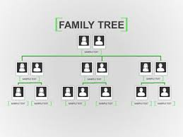 family tree toolkit a powerpoint template from presentermedia com