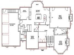 100 ranch house plans with walkout basement interior