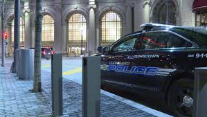 halloween city cleveland stabbing outside tower city leaves one person hospitalized wkyc com