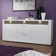sideboard fã r wohnzimmer design sideboard mit led beleuchtung weiß taupe jetzt bestellen