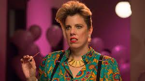 baroness von sketch show u2013 taco and a hair flip u2013 we tv