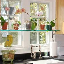 kitchen bay window pics with modern white wooden frames and nice