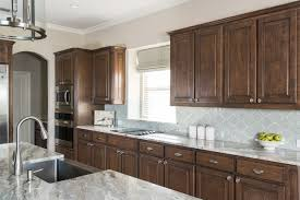 brown kitchen cabinets backsplash ideas brown cabinets backsplash ideas