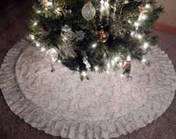 unique ideas white tree skirt skirts etsy decor