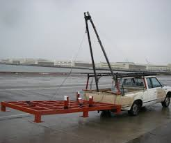 homemade truck a frame boom for vehicle scavenge huge things 6 steps with