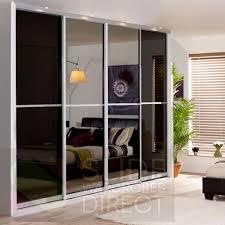 Closet Slide Door Mirror Design Ideas Direct Glass Mirror Sliding Door Wardrobe