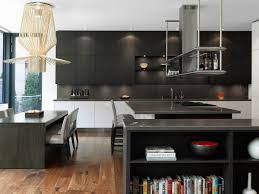dark kitchen island breakfast bar impressive modern home in