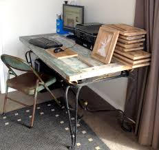 Door Desk Diy by Home Made Where Home Made Ally Lives