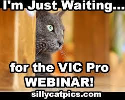 Webinar Meme - thank you for registering on the vic pro launch webinar web