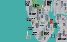 A Map Of New York City by New Interactive Map Lets You Explore Thousands Of New York City