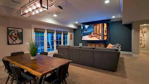 golf simulator home theater 3 magnificent multipurpose entertainment rooms electronic house