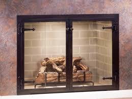 replace fireplace doors binhminh decoration