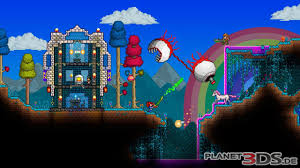 Terraria Map Download Planet3ds De Terraria Nintendo 3ds Spiel