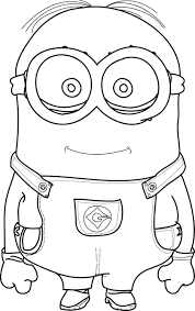 cool minions coloring pages wecoloringpage pinterest