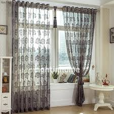 Patterned Sheer Curtains Sheer Printed Curtains Sheer Curtains Starfish Design Mermaid In