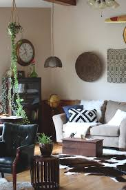 Brazilian Interior Design by Living Room A Brazilian Cowhide Rug Ikea Aztec Pillow Ikea Faux