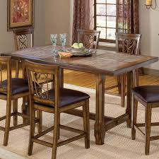 Counter High Dining Room Sets by Trestle Counter Height Dining Table Kitchen Tables Pinterest