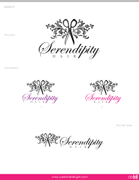 hair salon logos serendipity hair salon logo designs cb d
