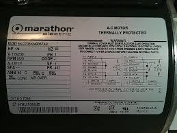 marathon electric motor wiring diagram luxury hi i just bought a