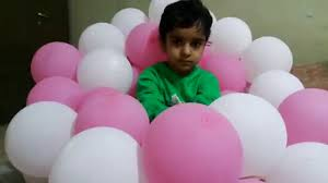 kids playing in a room of balloons activities for children