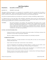 Escrow Officer Job Description Resume by Image Result For Resume Leasing Consultant Leasing Consultant