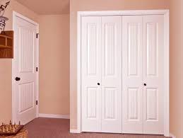 Bifold Closet Door Installation Wood Bifold Closet Doors With Beautiful Style Chocoaddicts
