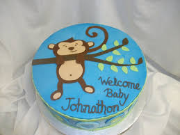 monkey baby shower cake topper u2014 c bertha fashion cute monkey