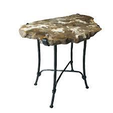 bernhardt petrified wood side table superb petrified wood side table pictures monikakrl info