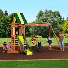 collection of solutions gorilla playsets frontier cedar wooden