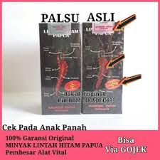 jual minyak lintah hitam papua original lintah asli papua